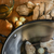oyster mushrooms and pearl onions stock photo © erbephoto