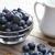 rústico · arándanos · mesa · pequeño · blanco · leche - foto stock © erbephoto