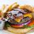 bacon · burger · carne · sanduíche · comer - foto stock © erbephoto