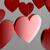 3D Red Hearts stock photo © ErickN