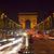 горизонтальный · мнение · известный · Триумфальная · арка · Париж · автомобилей - Сток-фото © erickn