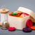 ミシン · ボックス · 刺繍 · カラフル · スレッド · バスケット - ストックフォト © erierika