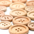 macro of wooden buttons stock photo © erierika