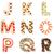 lettere · decorato · cookies · gruppo · dessert - foto d'archivio © erierika