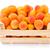 brzoskwinie · skrzynia · pełny · świeże · dojrzały - zdjęcia stock © erierika