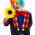 clown with big yellow flower stock photo © erierika
