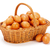brown chicken eggs in basket stock photo © erierika