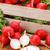 macro · vers · radijs · Rood - stockfoto © erierika