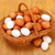 куриные · яйца · корзины · фон · здорового - Сток-фото © erierika
