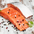 fresco · salmão · filé · aromático · ervas · temperos - foto stock © es75