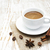 kávéscsésze · zsákvászon · zsák · pörkölt · bab · rusztikus - stock fotó © es75