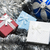 Рождества · красный · серебро · блеск · украшения - Сток-фото © es75