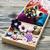 ミシン · ボックス · 刺繍 · カラフル · スレッド · バスケット - ストックフォト © es75