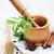 свежие · травы · лист · кухне · зеленый · черный - Сток-фото © Es75