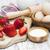 hozzávalók · eprek · sült · tál · tojások · cukor - stock fotó © es75