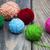 красочный · мяча · пряжи · деревянный · стол · ретро-стиле - Сток-фото © es75