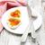 Rood · kaviaar · vork · zwarte · voedsel · groep - stockfoto © es75