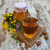Кубок · чай · меда · цветы · старые - Сток-фото © Es75