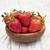 aardbeien · Rood · kom · vers · mooie · rijp - stockfoto © es75