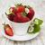 свежие · клубники · древесины · чаши · таблице · продовольствие - Сток-фото © es75