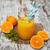 organisch · sinaasappelsap · hout · vers · Blauw · verweerde - stockfoto © es75