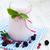 バニラ · ヨーグルト · 液果類 · イチゴ · ブルーベリー · レモン - ストックフォト © es75