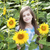 piękna · dziecko · słonecznika · lata · dziedzinie · niebo - zdjęcia stock © es75