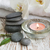 spa set with white orchids stock photo © es75