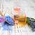 海塩 · 油 · ボトル · 表 · 花 · 春 - ストックフォト © es75