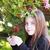 güzel · küçük · kız · buket · çiçekler · doğa · aile - stok fotoğraf © es75