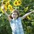 beautiful child with sunflower stock photo © es75