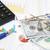 negocios · tabla · calculadora · dólar · resumen · bar - foto stock © es75