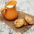 gezonde · cookies · witte · hout · top - stockfoto © es75