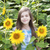belo · criança · girassol · primavera · campo · flor - foto stock © es75