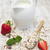 yoğurt · tahıl · müsli · taze · çilek · muz - stok fotoğraf © es75
