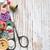 de · costura · madeira · velha · abstrato · ferramentas · tecido · aço - foto stock © es75