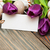Páscoa · ovos · roxo · tulipa · flores · bordo - foto stock © es75