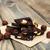 koyu · çikolata · fındık · baharatlar · ahşap · gıda · çikolata - stok fotoğraf © es75