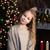 little girl near christmas tree stock photo © es75