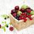 friss · fehér · háttér · természet · gyümölcs · nyár - stock fotó © es75