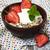 müsli · aardbeien · oude · houten · hout · melk - stockfoto © Es75