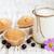 frutta · yogurt · torta · dessert · frutti · menta - foto d'archivio © es75