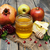 miele · mela · fetta · mela · rossa · alimentare - foto d'archivio © es75