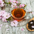 sakura · virág · fehér · rózsaszín · fa · levél - stock fotó © es75