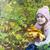 portret · uśmiechnięty · dziewczyna · jasne · szalik · słoneczny - zdjęcia stock © es75