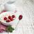 tál · gabonafélék · üveg · joghurt · reggeli · fa · asztal - stock fotó © es75