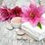 spa · ürünleri · beyaz · zambak · çiçekler · yeşil - stok fotoğraf © es75