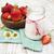 iogurte · fresco · vidro · tabela · café · da · manhã - foto stock © es75