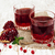 two glasses of pomegranate juice stock photo © es75