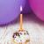 bir · doğum · günü · mutlu · yıllar · mum · yanan - stok fotoğraf © es75